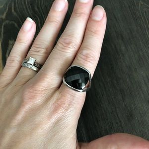 Lia Sophia- Onyx Ring